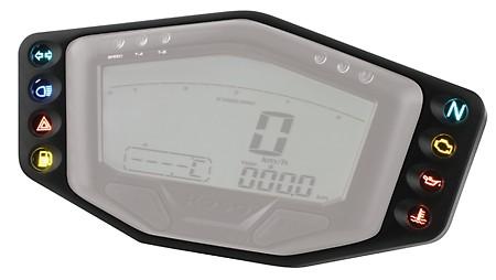 KOSO Telltale frame for cockpit with 8 directive lights