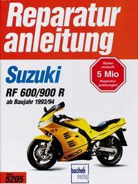 Motorbuch Engine book No. 5205 repair instructions SUZUKI RF 600/900 R, 93-/94-