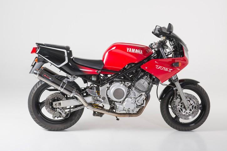 BOS Endschalldämpfer carbon-steel YAMAHA TRX 850