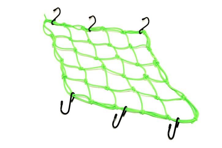 - Kein Hersteller - Luggage net lime green 40 cm x 40 cm