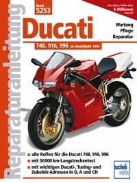 Motorbuch Engine book No. 5253 repair instructions DUCATI 748/916/996