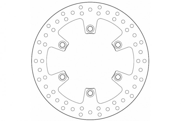FERODO Brake disc FMD0026R