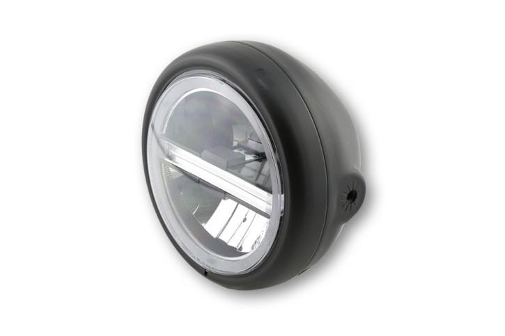 STOCK SALE: HIGHSIDER LED headlamp PECOS TYPE 6, DRL, bl., side mount