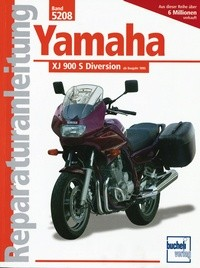 Motorbuch Engine book No. 5208 repair instructions YAMAHA XJ 900 Diversion (1995-)