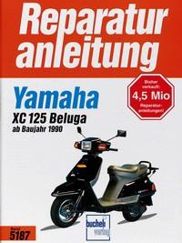 Motorbuch Engine book No. 5187 repair instructions YAMAHA XC 125 Beluga