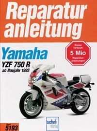 Motorbuch Engine book No. 5193 repair instructions YAMAHA YZF 750 R/SP, 93-