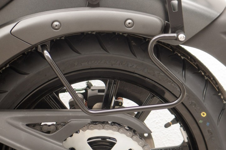 FEHLING Saddlebag supports Kawasaki Vulcan S (EN650), 15-