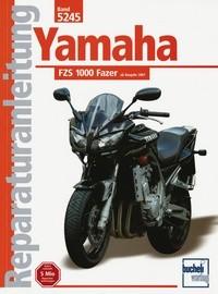 Motorbuch Bd. 5245 Reparatur-Anleitung YAMAHA FZS 1000 Fazer, 01-