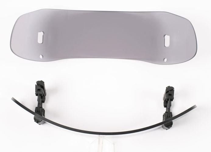 MRA Vario Touringscheibe Aufsatz VTA-Typ 9, 31/21 cm, klar, ohne ABE,