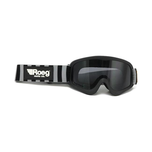 ROEG® PERUNA getönte Brille in Schwarz mit gestreiftem Band