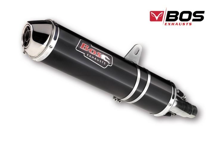 BOS Endschalldämpfer carbon-steel Hyper RR SUZUKI GSF 600 Bandit, 96-04