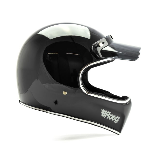 ROEG® PERUNA RETRO CROSS-/ENDURO-HELMET, ECE-approved
