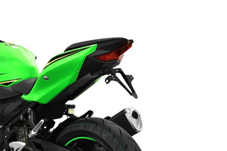 HIGHSIDER Kennzeichenhalter Kawasaki Ninja 400