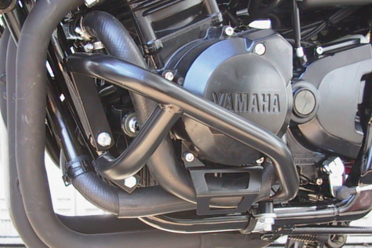 FEHLING Motor-Schutzbügel, schwarz, YAMAHA FZS 600 Fazer