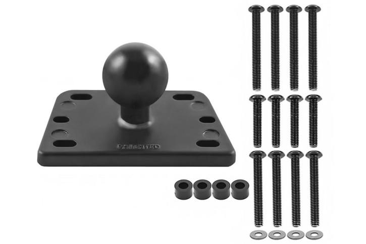 RAM Mounts Motorrad-Basisbefestigung für Brems-/Kupplungsbehälter - zentrierte B-Kugel (1-Zoll)