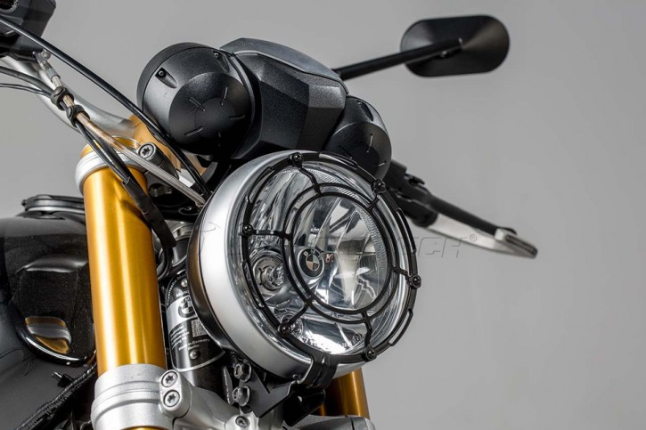 SW-MOTECH Headlight predection black. BMW R nineT (14-).
