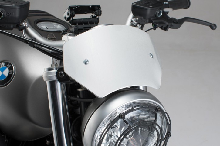 Windscreen. Silver. BMW R nineT Scrambler (16-)