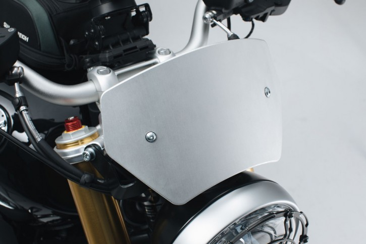 Windscreen Silver. BMW R nineT ,14-.