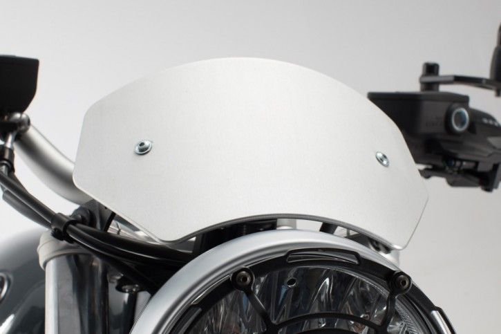 Windscreen Silver. BMW R nineT Pure ,16-.