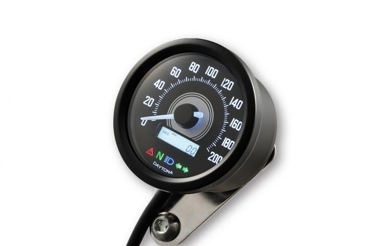Digital SPEEDO/Speedometer/Tachometer, DAYTONA VELONA 2, to 200 Km/h