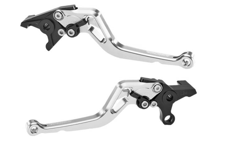 probrake Clutch- & brake lever set MIDI, silver