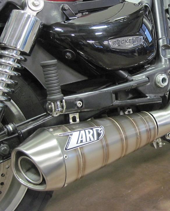 ZARD Auspuff Komplettanlage TRIUMPH Roadster/Rocket 3, 05-11