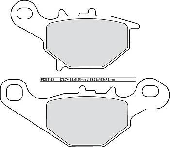 FERODO Disc brake pad FDB 2133 AG
