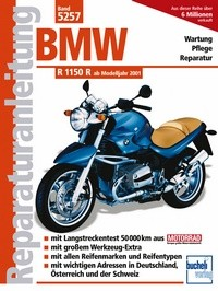 Motorbuch Engine book No. 5257 repair instructions BMW R 1150 R, 02-