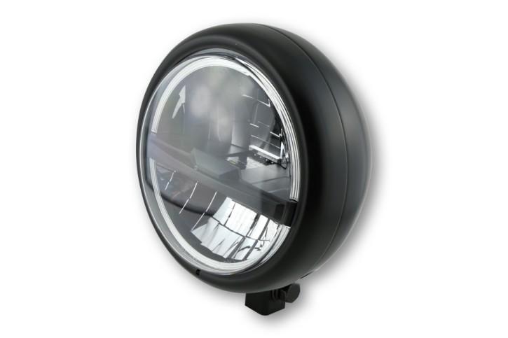 HIGHSIDER LED headlamp PECOS TYPE 5, black, bottom mount