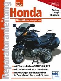 Motorbuch Engine book No. 5251 repair instructions HONDA NTV 650 Deauville, 98-