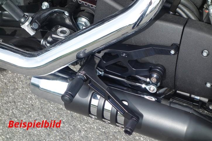 LSL Rastenanlage Harley Davidson 17-, schwarz