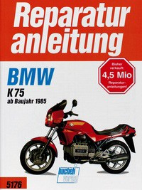 No. 5176 repair instructions BMW K 75, 85-
