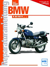 No. 5160 repair instructions BMW R80/100R, 91-97