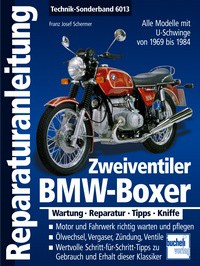 Repair instructions BMW Boxer 69-85
