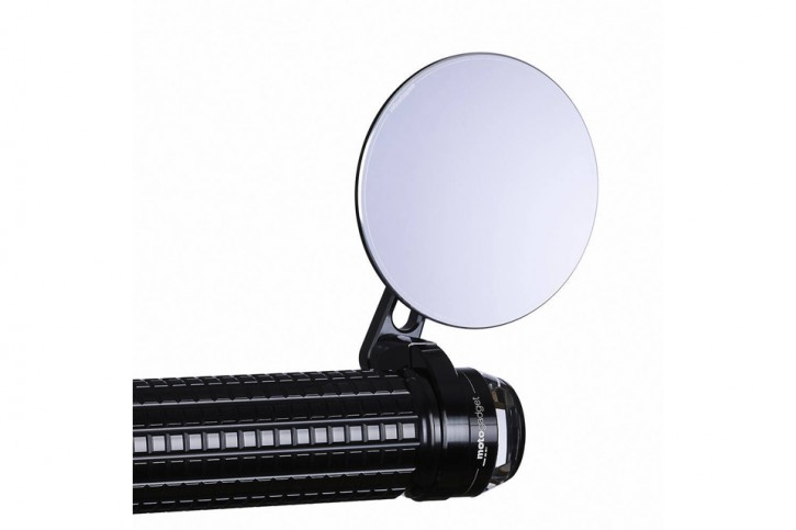 motogadget M.view spy, glass-free rearview mirror for handlebar ends