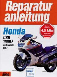 Motorbuch Bd. 5099 Reparatur-Anleitung HONDA CBR 1000 F (ab 1987)