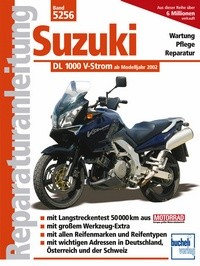 Motorbuch Engine book No. 5256 repair instructions SUZUKI DL 1000 V-Strom, 02-