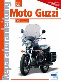 Motorbuch Engine book No. 546 repair instructions MOTO GUZZI V-2