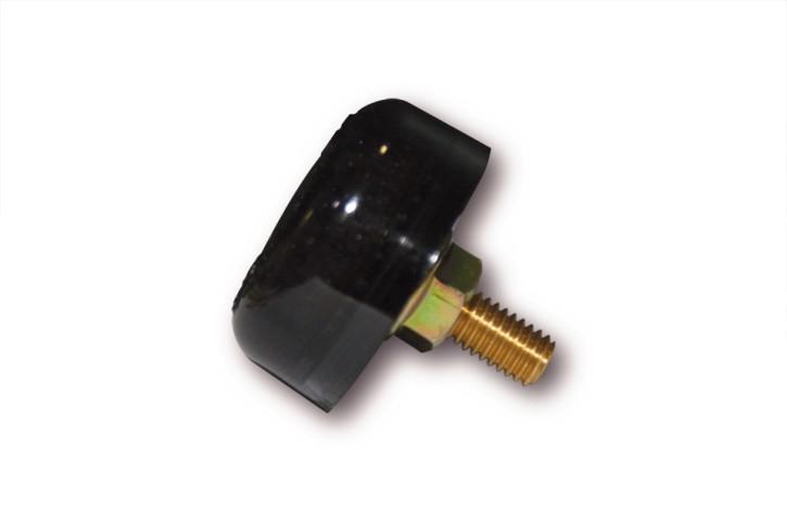 SHIN YO LED-Rücklicht MICRO DISC, getöntes Glas, rund