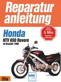 Motorbuch Engine book No. 5118 repair instructions HONDA NTV 650 Revere, ab 88
