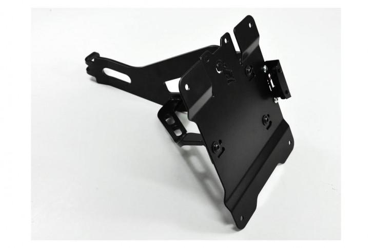 IBEX Bracket for license plate, side mount for HONDA VT 600 Shadow