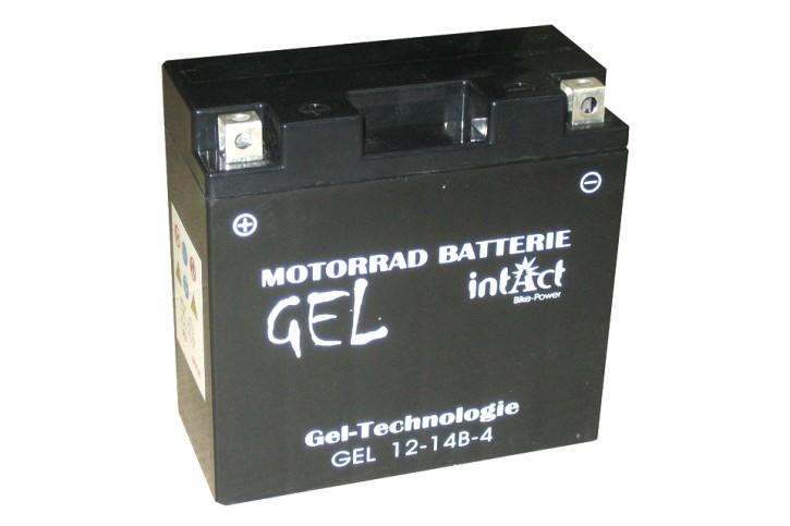 INTACT Bike Power Batterie GEL YT14B-4