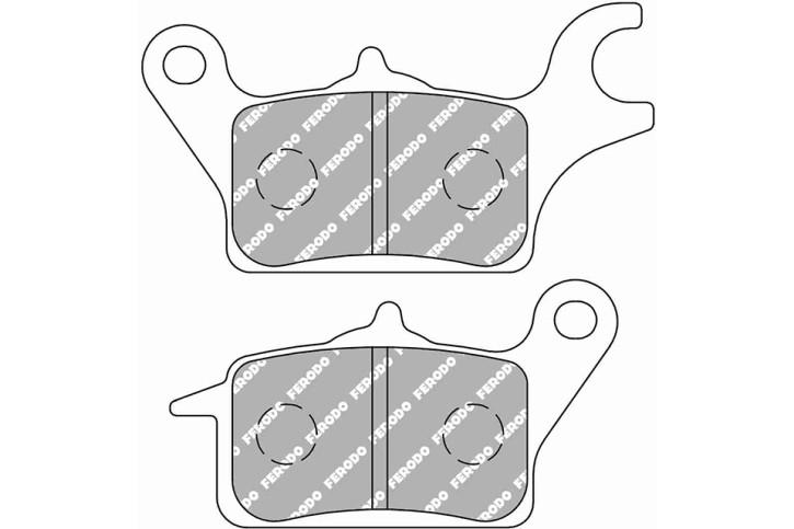 FERODO Disc brake pad FDB 2296 EF