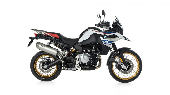 BOS Endtopf Dune Fox BMW F 750 GS / F 850 GS / Adventure, 18-