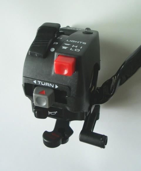 Uni-Lenkerschalter HONDA mit Chokehebel für ATV + MRD