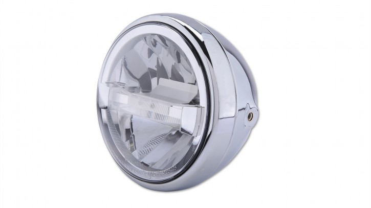 HIGHSIDER HIGHSIDER 7 inch LED headlight RENO TYPE 4, chrome