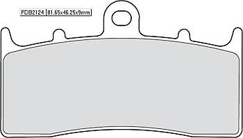FERODO Sinter disc brake pad FDB 2124 ST