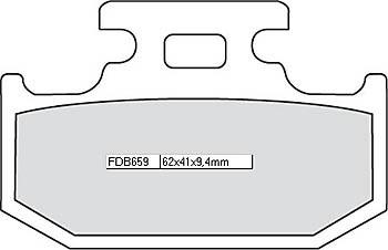FERODO Bremsbelag FDB 659 Platinum