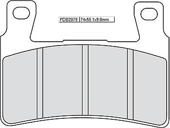 FERODO Disc brake pad FDB 2079 P
