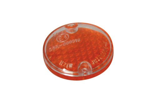 SHIN YO Lens for ARIZONA indicator, amber/transparent, pair